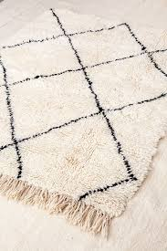 moroccan beni ourain rugs in london at collection souk ltd soft
