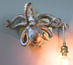 fantastic octopus lamp for your room modern home decor