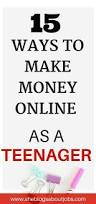 Ideas To Make Money From Home 12 Best Extra Money Ideas Images On Pinterest