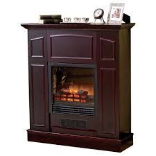 gettington alcove franklin electric fireplace heater with mantel