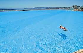 world u0027s biggest pool holds 66 million gallons daily mail online