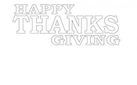 happy thanksgiving coloring page free stock photo public domain