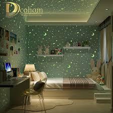 Wallpaper For Kids Room Popular Star Wallpaper For Walls Buy Cheap Star Wallpaper For
