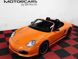 orange porsche convertible 2008 porsche boxster s limited edition