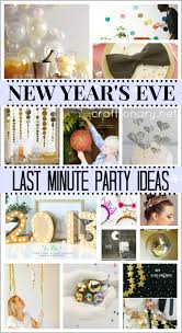Diy New Years Decorations Pinterest by Craftionary