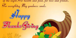 giving thanks the