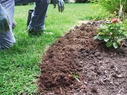 How To Mulch Flower Beds How To Edge A Flower Bed Or Garden With Tips From A Pro Angie U0027s List