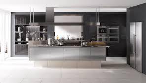 edelstahl küche moderne küche edelstahl kochinsel inspiration