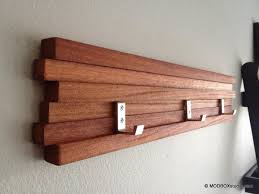 coat rack 4 hook key hat rack minimalist modern wall hanging