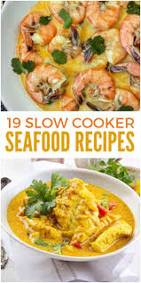 19 slow cooker seafood recipes you don u0027t want to miss low