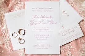 Invitations For Weddings Pink Cream Wedding In Richmond Virginia With Diy Elements