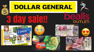dollar general 3 day sale and bealls outlet clearance items 11