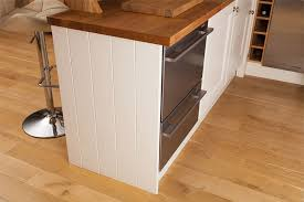 how to replace kitchen end panels installing cabinet end panels in solid oak kitchens solid