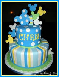 baby mickey 1st birthday cake baby mickey mouse 1st birthday