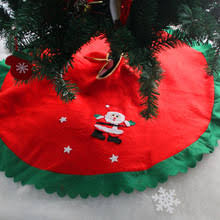 popular cotton tree skirt buy cheap cotton