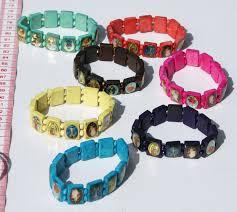religious bracelet wooden beaded bracelet christian catholic religious church