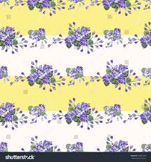 vintage feedsack pattern small flowers country stock illustration