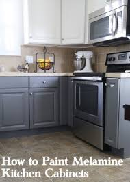 can you paint formica kitchen cabinets kitchen cabinets painting melamine kitchen cabinets the decorologist
