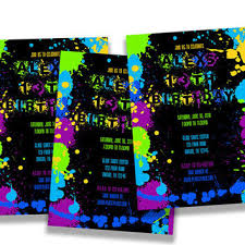 hashtag neon party birthday party invitation birthday rainbow 1st birthday invitation from partyprintexpress on etsy
