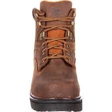 georgia boot men u0027s steel toe work boot with steel shank oil and