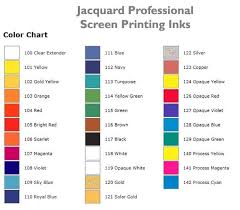 screen printing inks color chart u2013 ezscreenprint