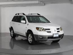 mitsubishi outlander 2016 white used 2003 mitsubishi outlander xls suv for sale in west palm fl