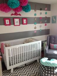 pink and turquoise nursery for emma gwendolyn white nursery