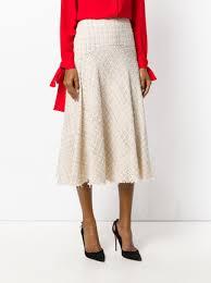 tweed skirt mcqueen tweed skirt 1 525 buy aw17 online fast