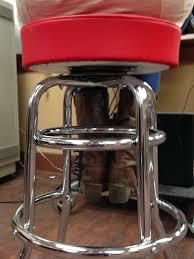 bar stools restaurant amazon com commercial grade red restaurant swivel bar stool made