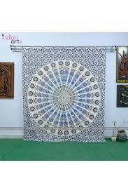 buy hand printed designer mandala curtains online u2013 indianartx com