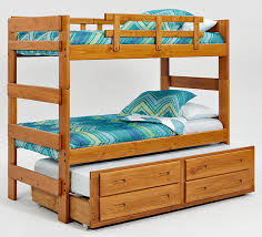 make your bedroom a place with bunk beds for three 3 bed Three Person Bunk Bed