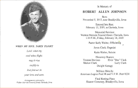 Burial Invitation Card Funeral Invitation Template Thebridgesummit Co