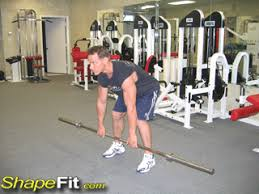 Bench Barbell Row Bent Over Barbell Rows Back Exercise Guide With Photos
