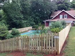 pool picket fence british standard fencebritish standard fence
