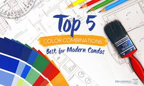 5 color combinations that are perfect for modern condos