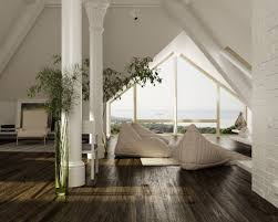 attractive sloping interior roof house architecture optronk home
