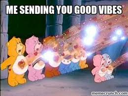 Good Vibes Meme - vibes care bear