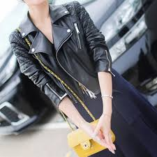 ladies leather motorcycle jacket online get cheap ladies leather motorcycle jacket aliexpress com