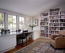 Modular Desks Home Office Home Office Enchanting Office Library Idea Which Is Implemented