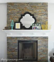 slate fireplace mantel luxury decoration paint color fresh in