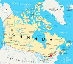 Map Of Canada And United States by Download Show Me Map Of Canada Major Tourist Attractions Maps