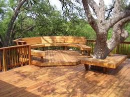 Deck And Patio Ideas For Small Backyards by Elegant Backyard Deck Ideas With Natural Wooden Floor Tile And