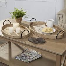 Decorative Trays For Coffee Table Decorative Trays Birch
