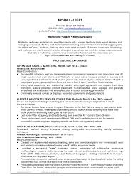 sales and marketing resume m albert 2015 marketing sales resume