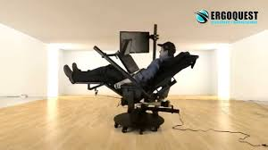zero gravity chair with laptop and 2nd monitor youtube