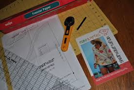 pattern making tissue paper transfer a sewing pattern with freezer paper freezer paper