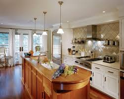 large tile backsplash kitchen contemporary with frame and panel