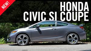 Honda Civic Si Two Door 2015 Honda Civic Si Coupe Review Youtube