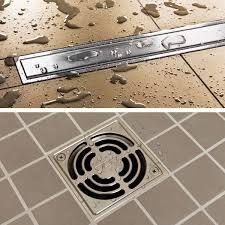 shower system schluter com drains