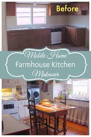 Mobile Home Kitchen Makeover - this is what a 800 mobile home kitchen makeover looks like